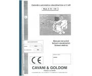 Calandre CAVANI&GOLDONI Usato