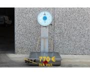 Varie Bilico meccanico in acciao inox pesa bilancia industriale da pavimento con ruote ODECA 300 kg Usato
