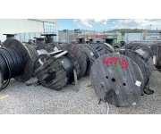Varie Qty Miscellaneous Drums Of Electrical Cable Usato